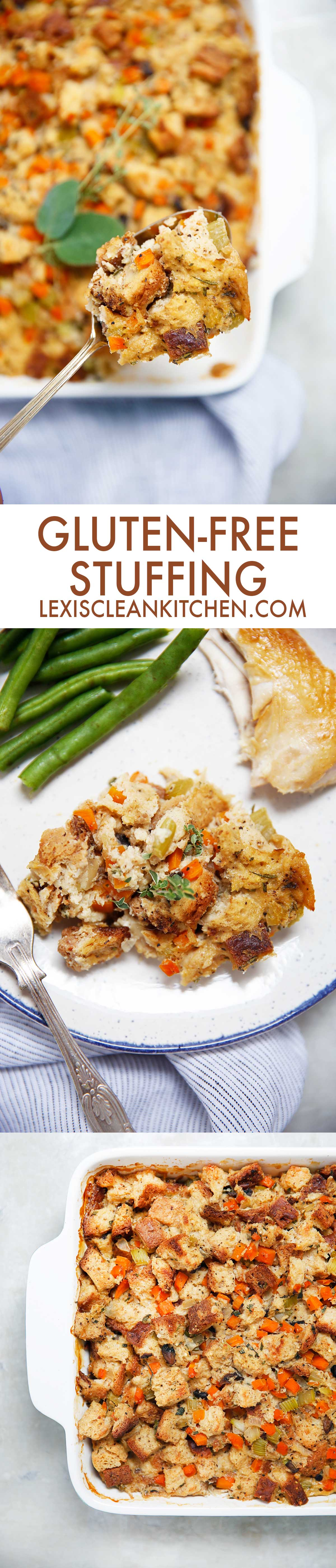 Gluten Free Stuffing - Lexi's Clean Kitchen