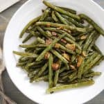 Garlicky Blistered Green Beans - Lexi's Clean Kitchen