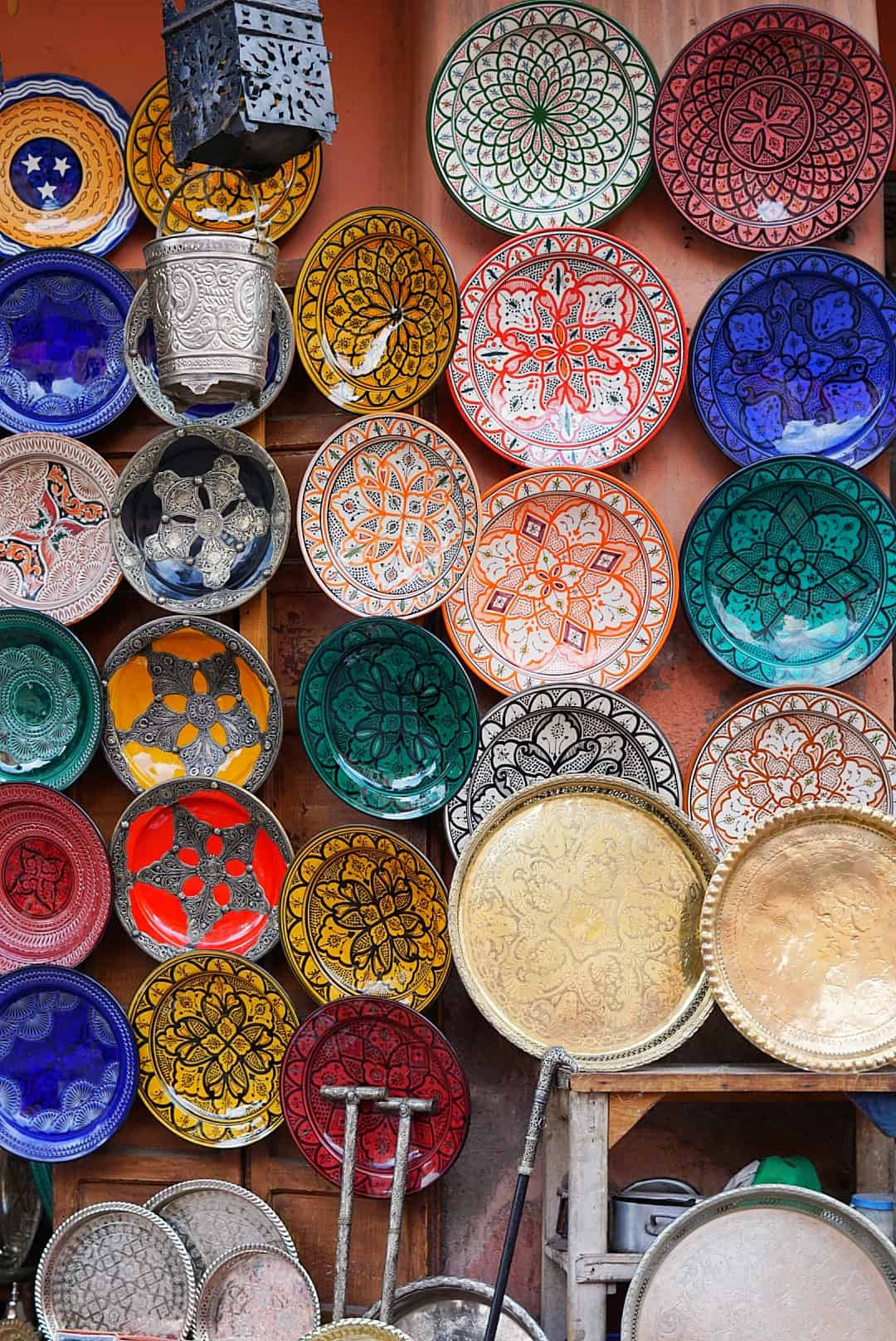 Plates in Marrakech, Morocco - Lexi's Clean Kitchen