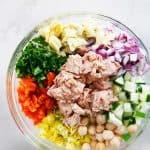 Mediterranean Tuna Salad with No Mayo - Lexi's Clean Kitchen