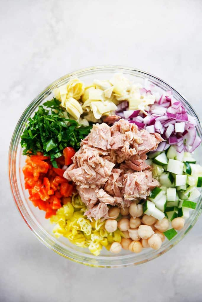 Mediterranean tuna salad with no mayo lexi 39 s clean kitchen for Tuna fish salad recipes