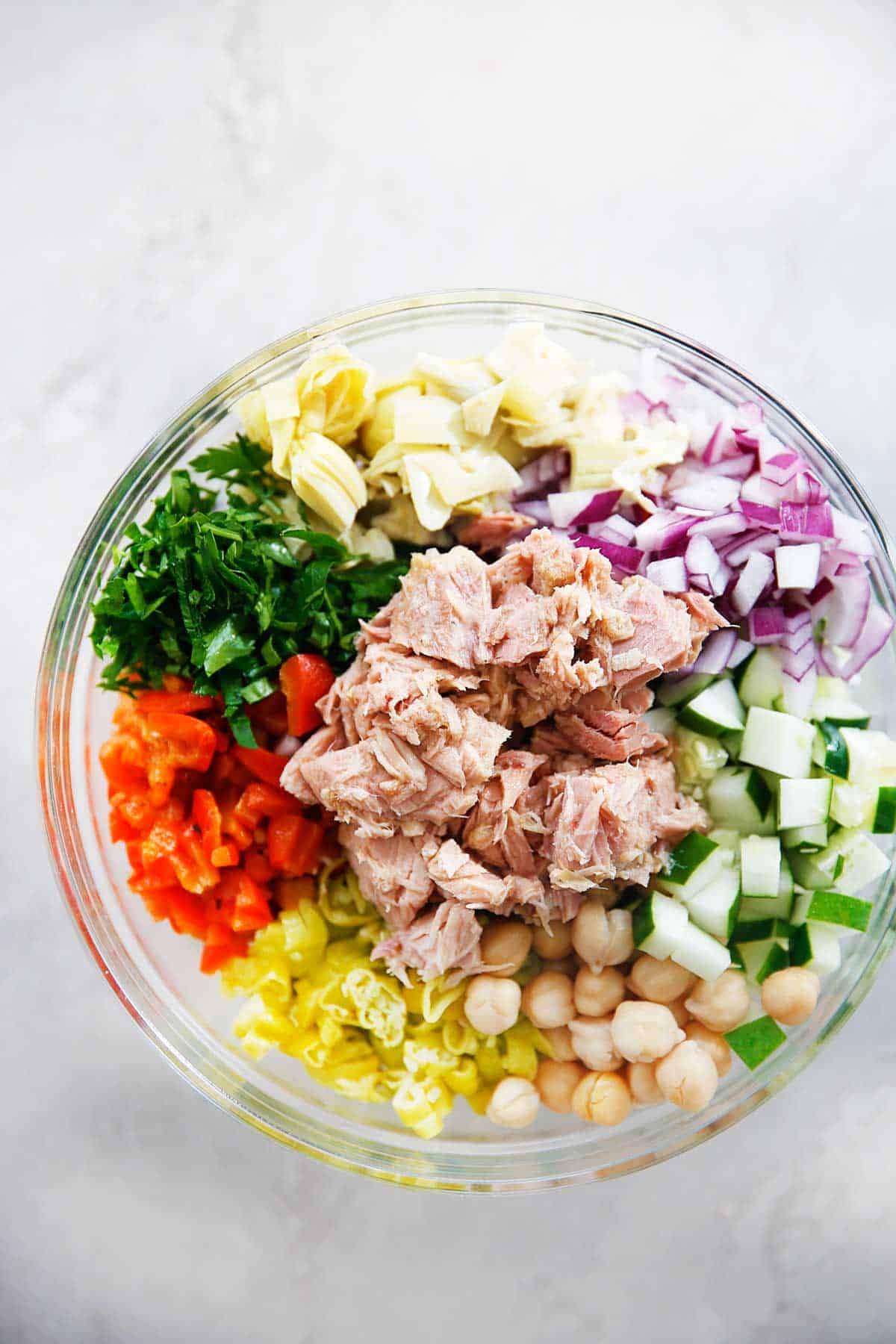 Mediterranean Tuna Salad with No Mayo - Lexi's Clean Kitchen
