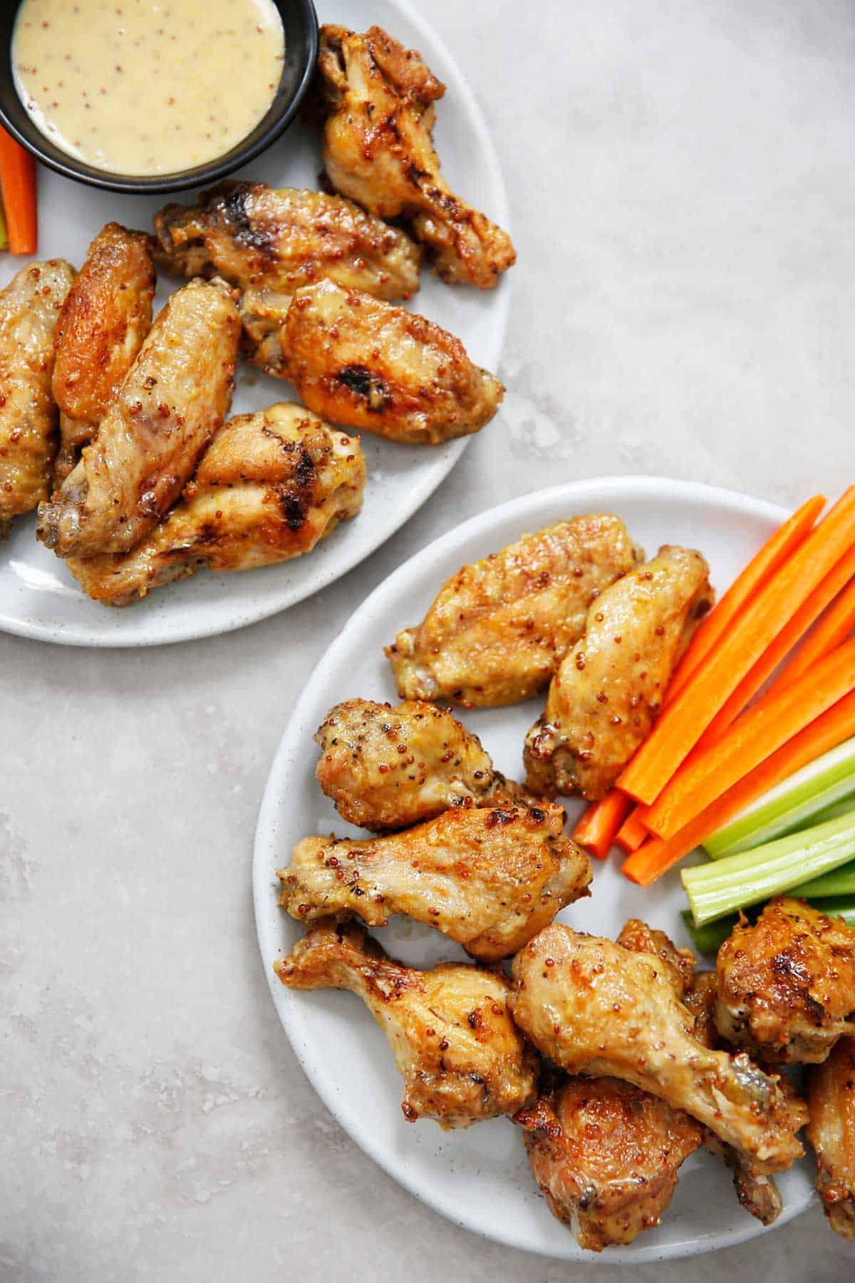 Instant Pot Chicken Wings Recipe Honey Mustard