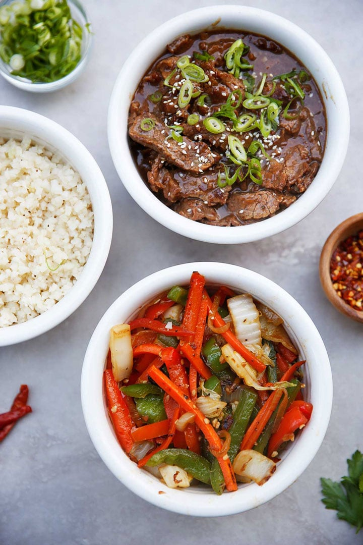 Dishes from Mongolian beef instant pot recipe