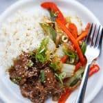 Paleo Mongolian Beef (Instant Pot)