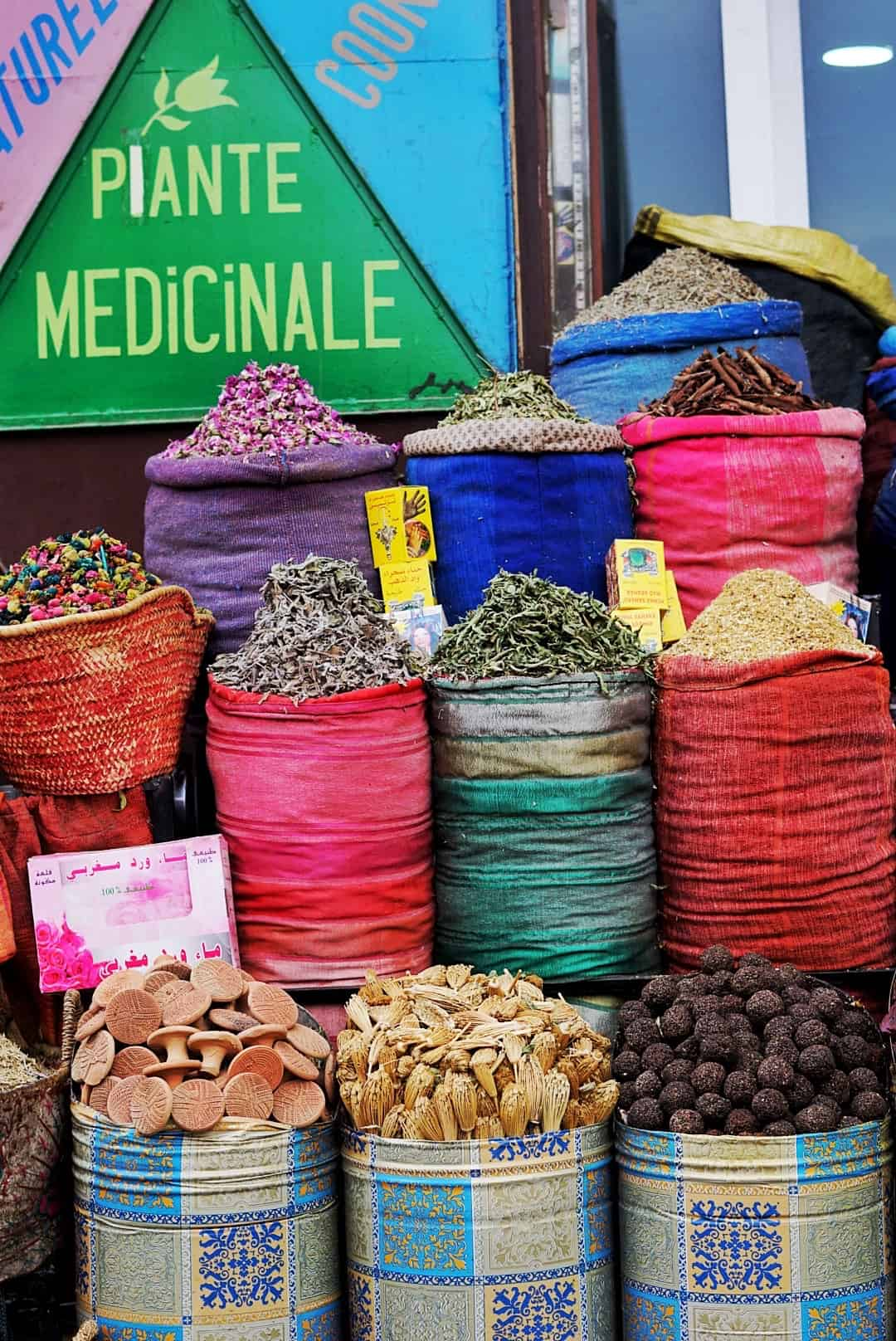 Morocco Plants and Herbs in Marrakech