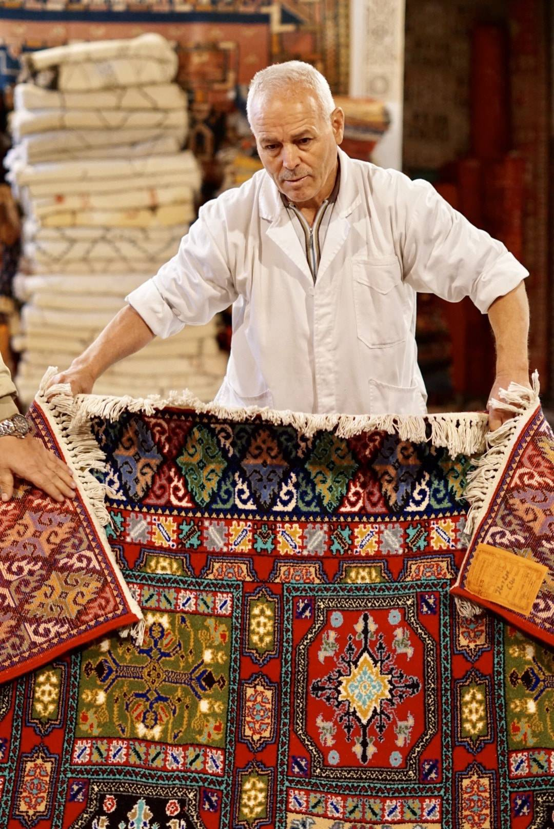 Rug Shopping in Fes, Morocco