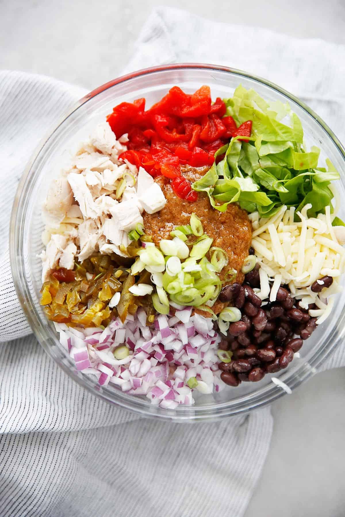 Taco chicken salad ingredients