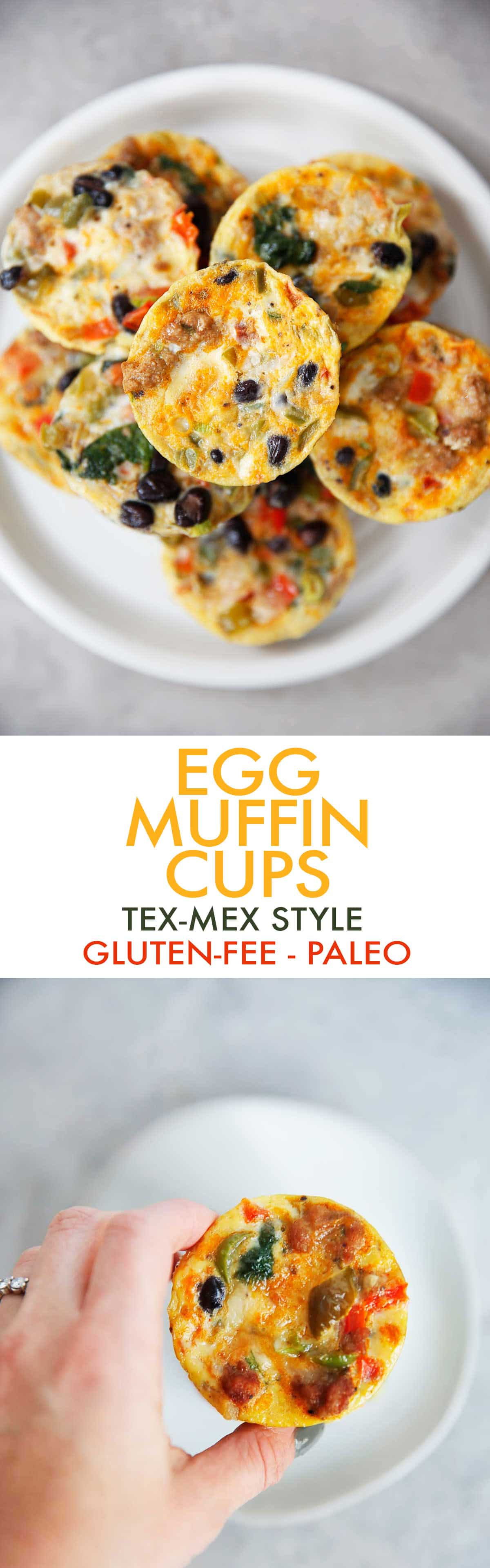 Egg Muffin Cups With Turkey And Tex Mex Flavors