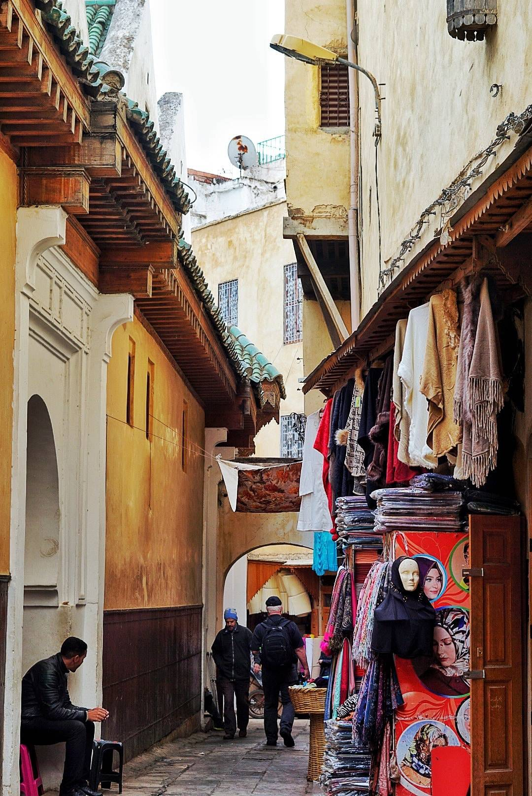 Exploring The Streets of The Walled Medina Fes Morocco