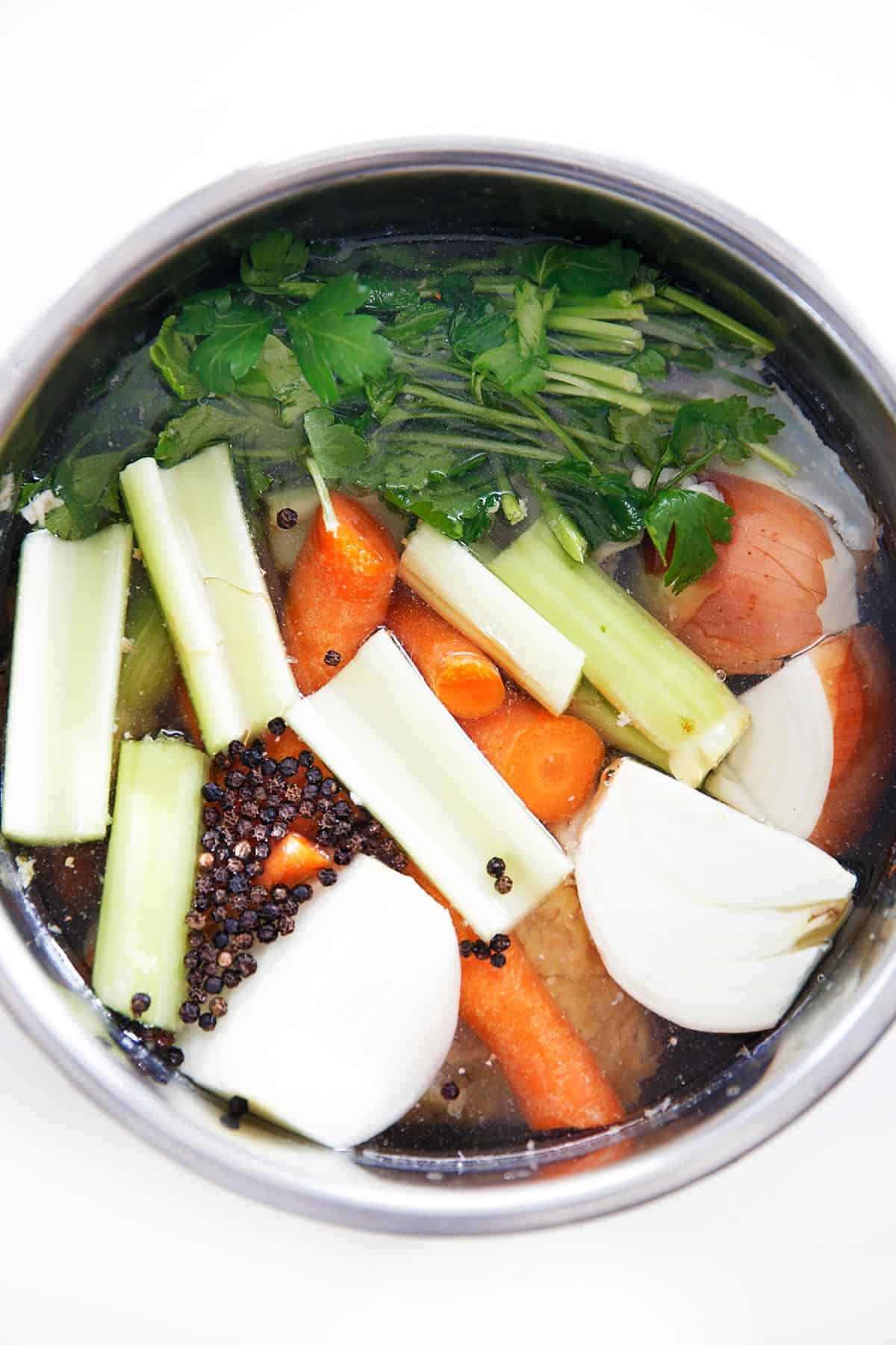 How To Make Chicken Broth in the Instant Pot