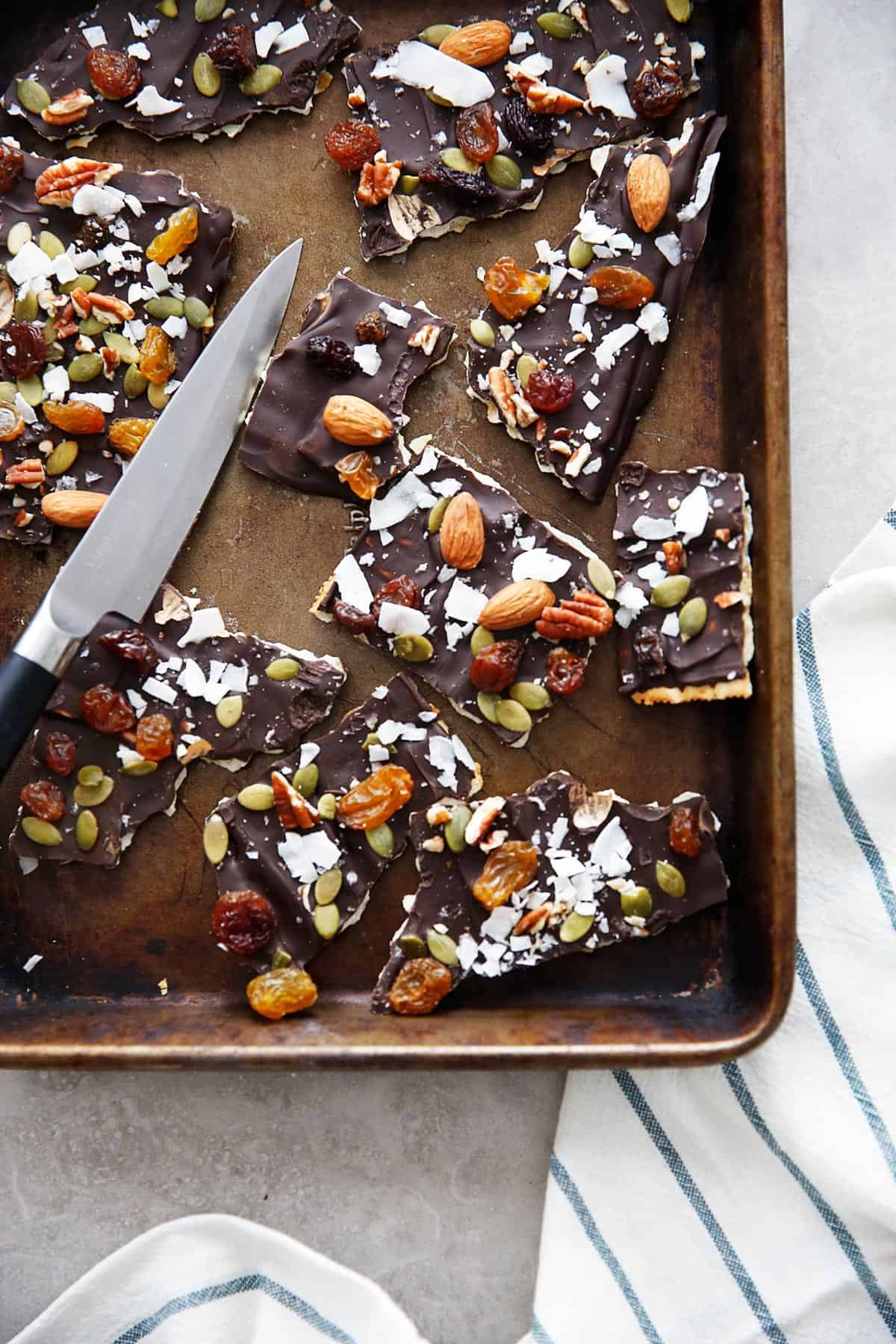 Chocolate Matzo Crack