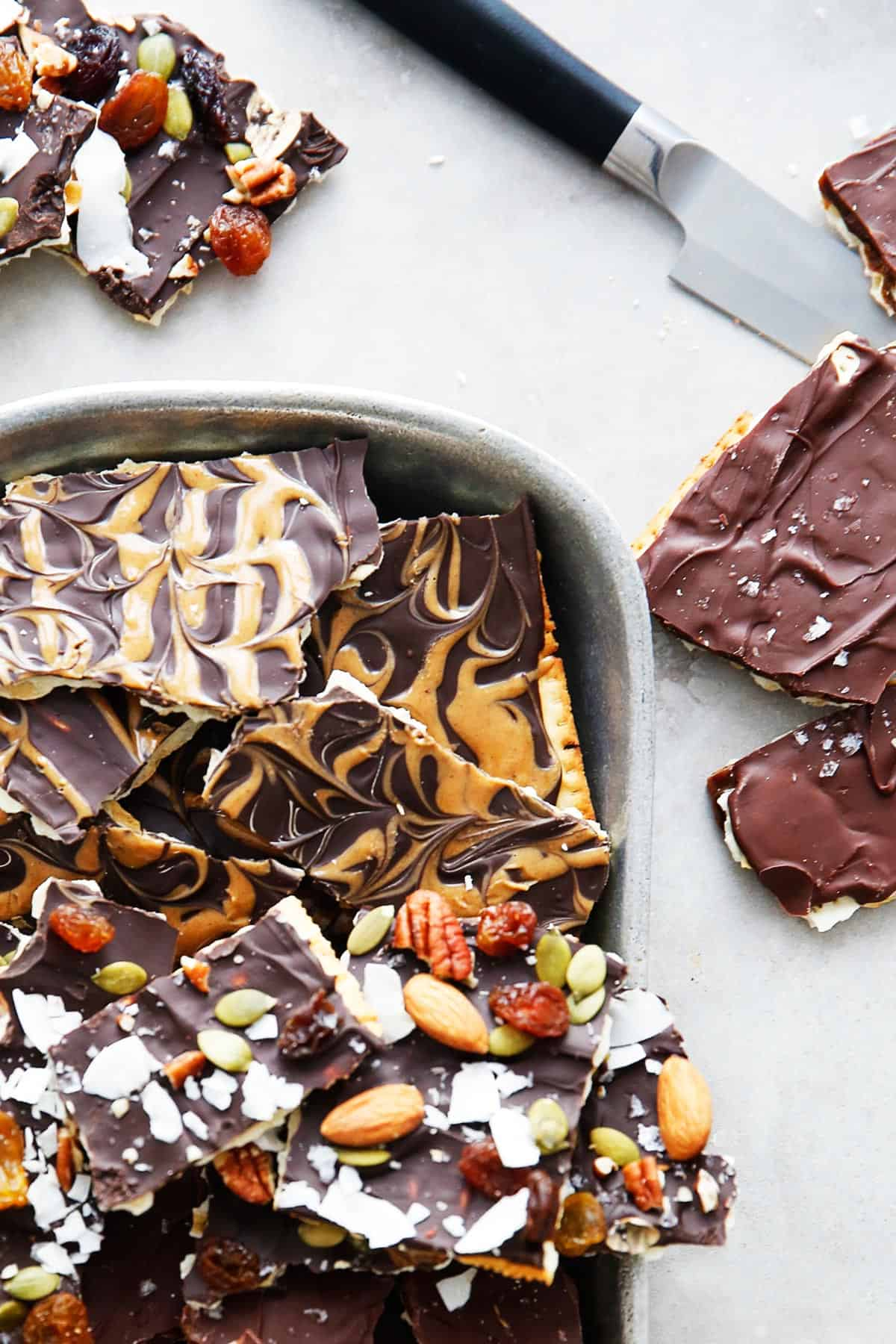 Matzo Crack edible gift recipe