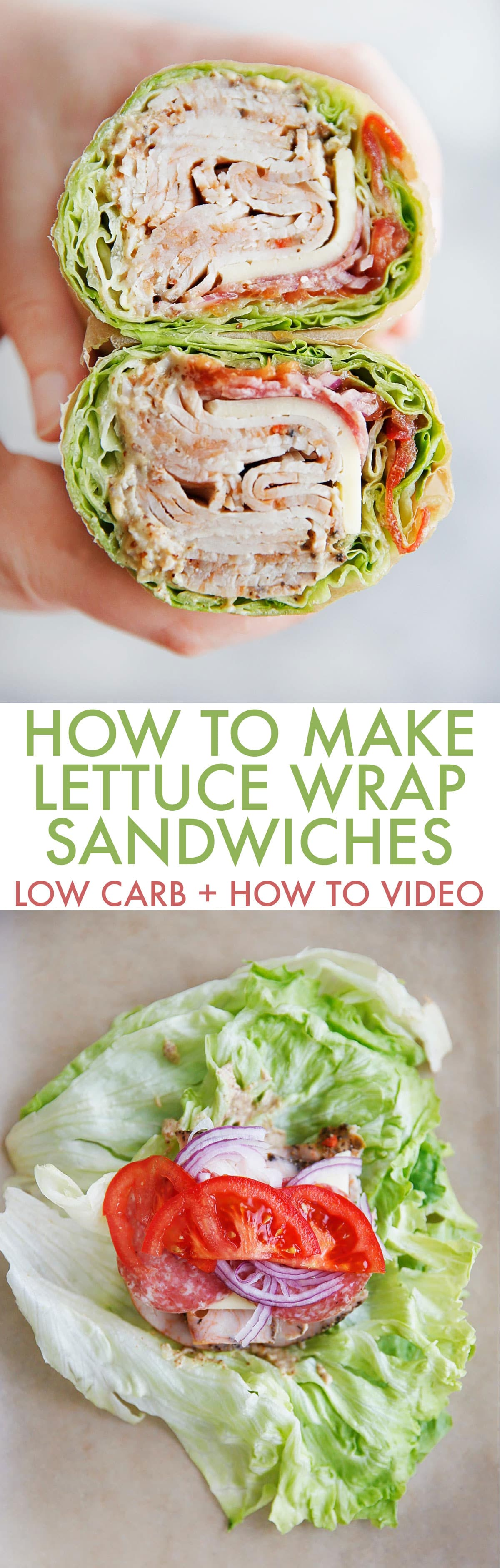How to Make a Lettuce Wrap Sandwich