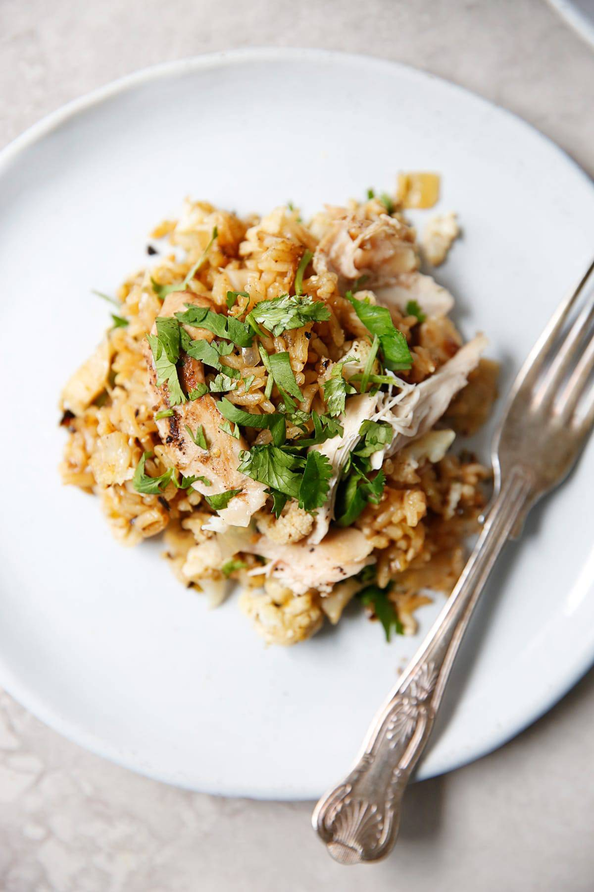 One Pan Salsa Verde Chicken and Rice