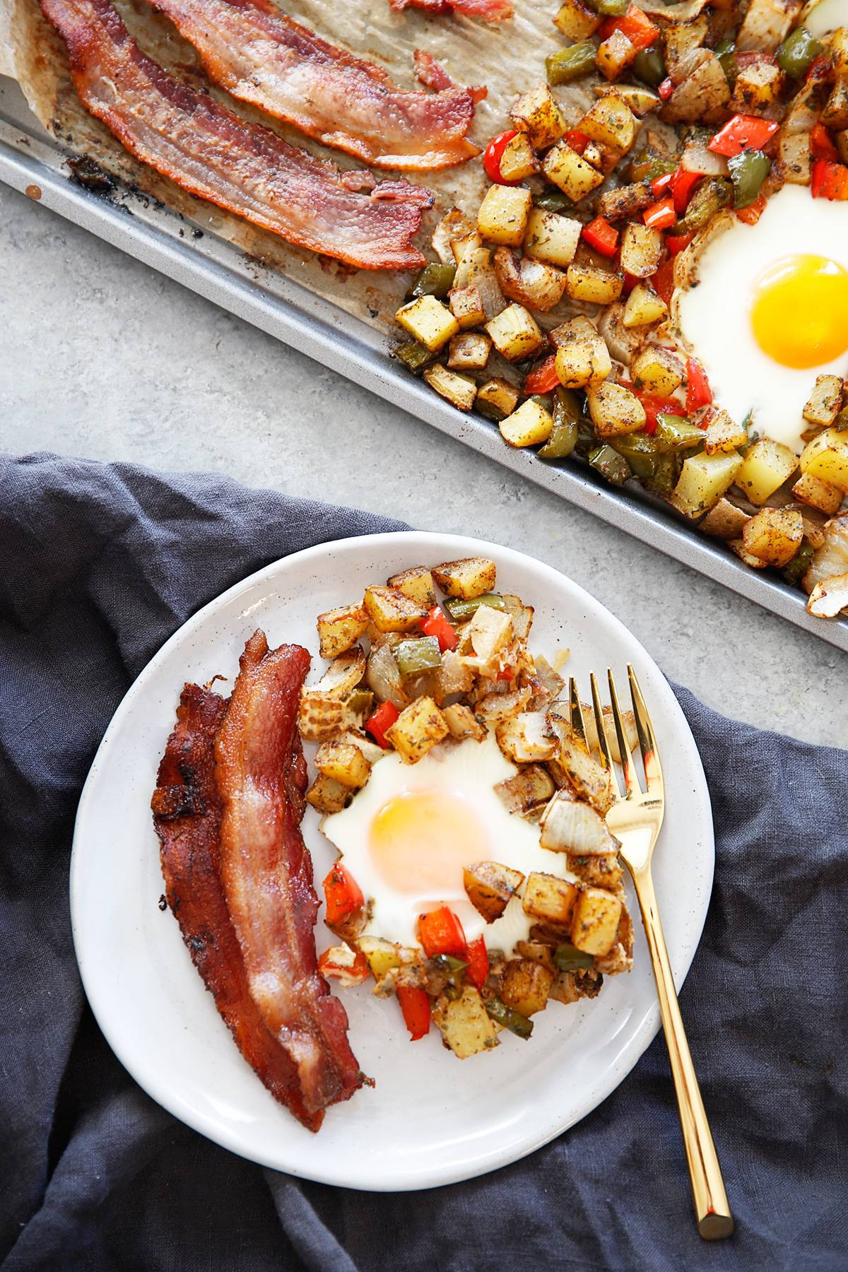 Sheet Pan Breakfast Potatoes