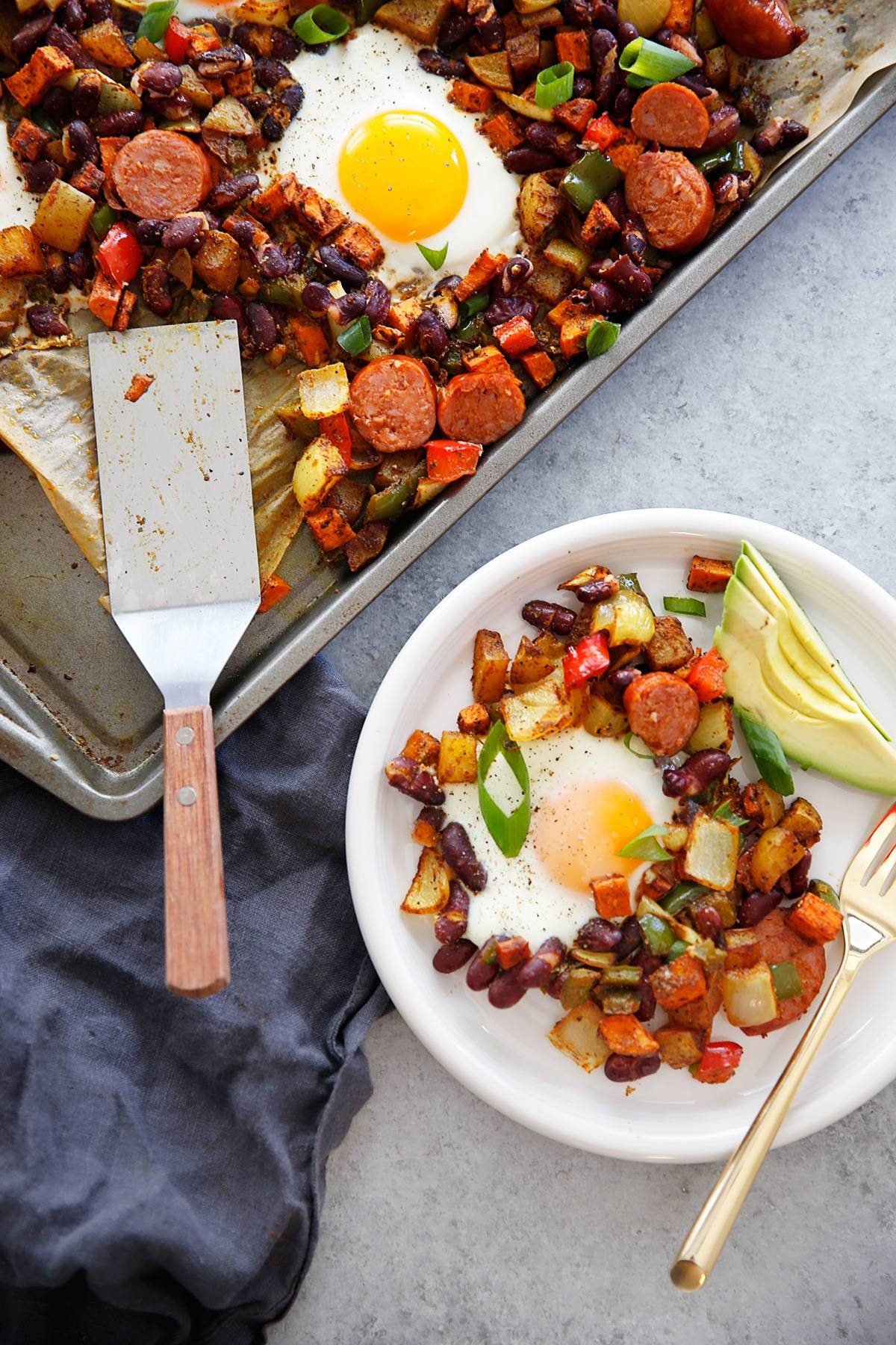 Sheet Pan Chorizo and Egg Bake