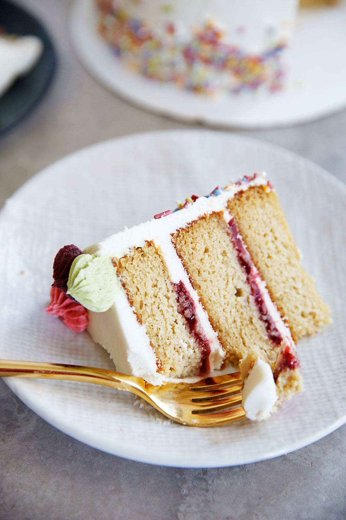 The BEST Gluten-Free Layer Birthday Cake