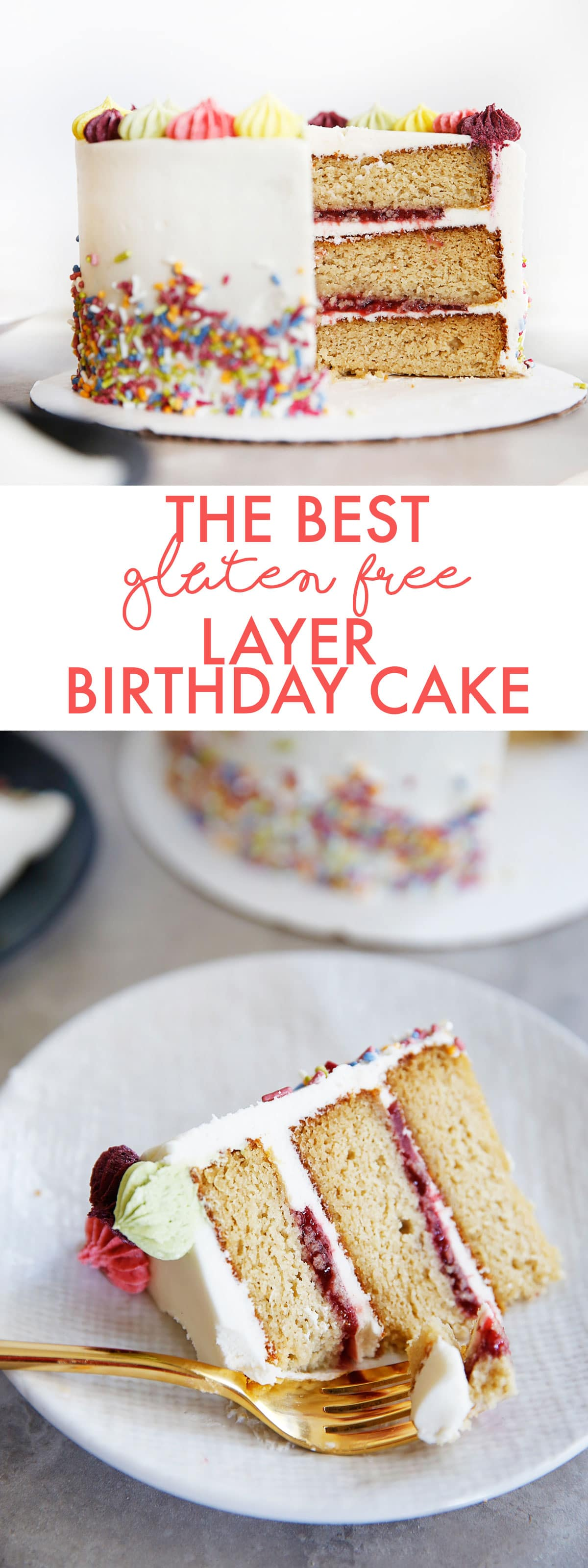 The Best Gluten Free Layer Birthday Cake Lexi S Clean