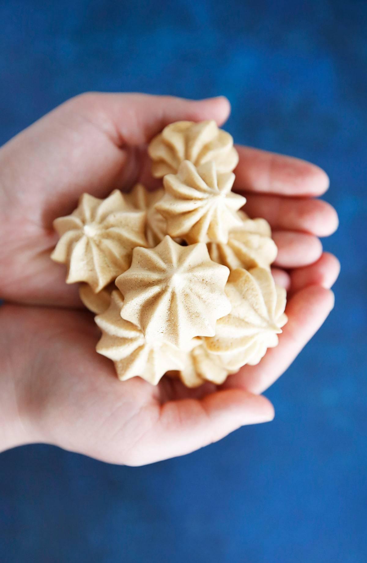 Maple Meringue Cookies (Refined Sugar Free)