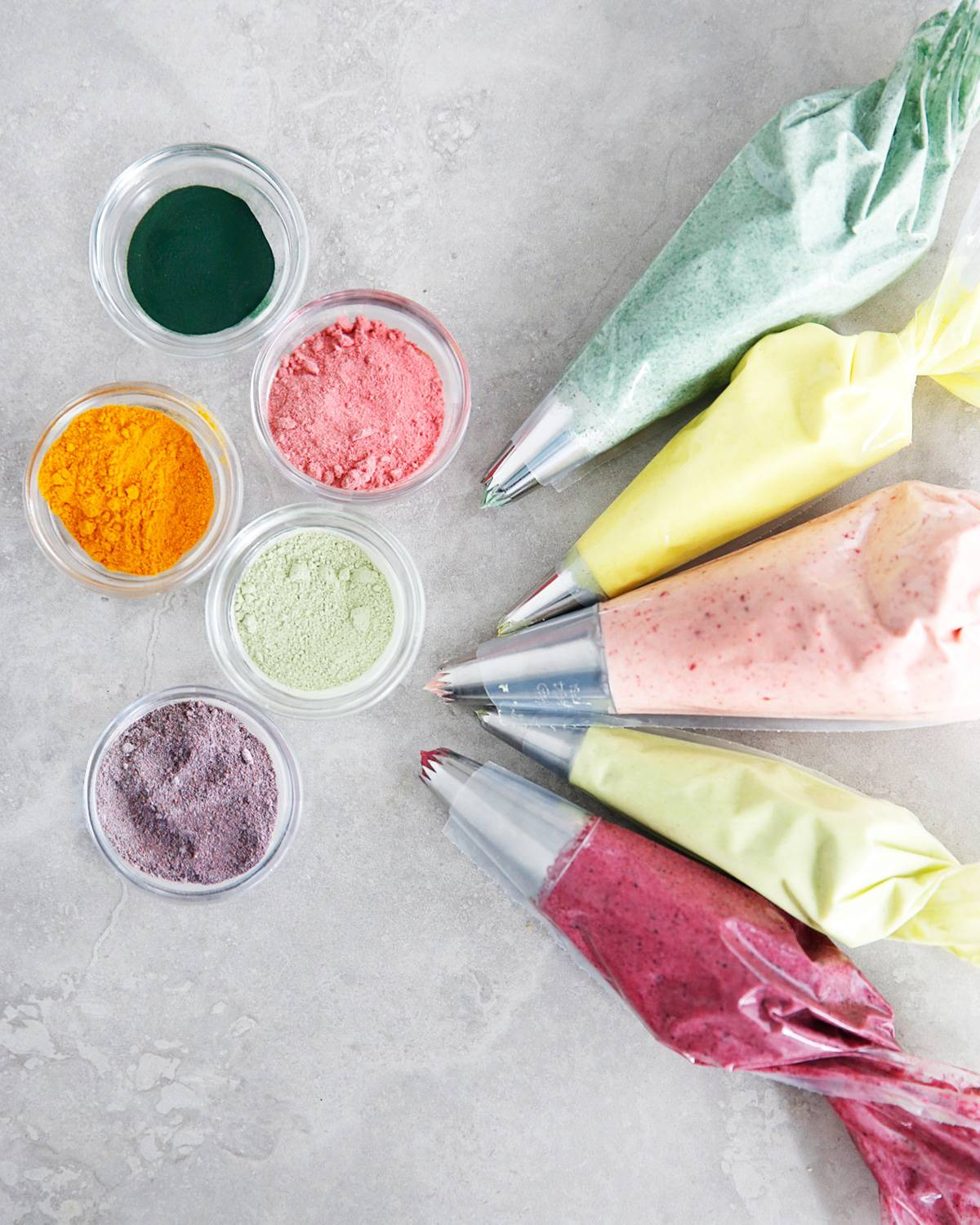 Natural Colored Frosting