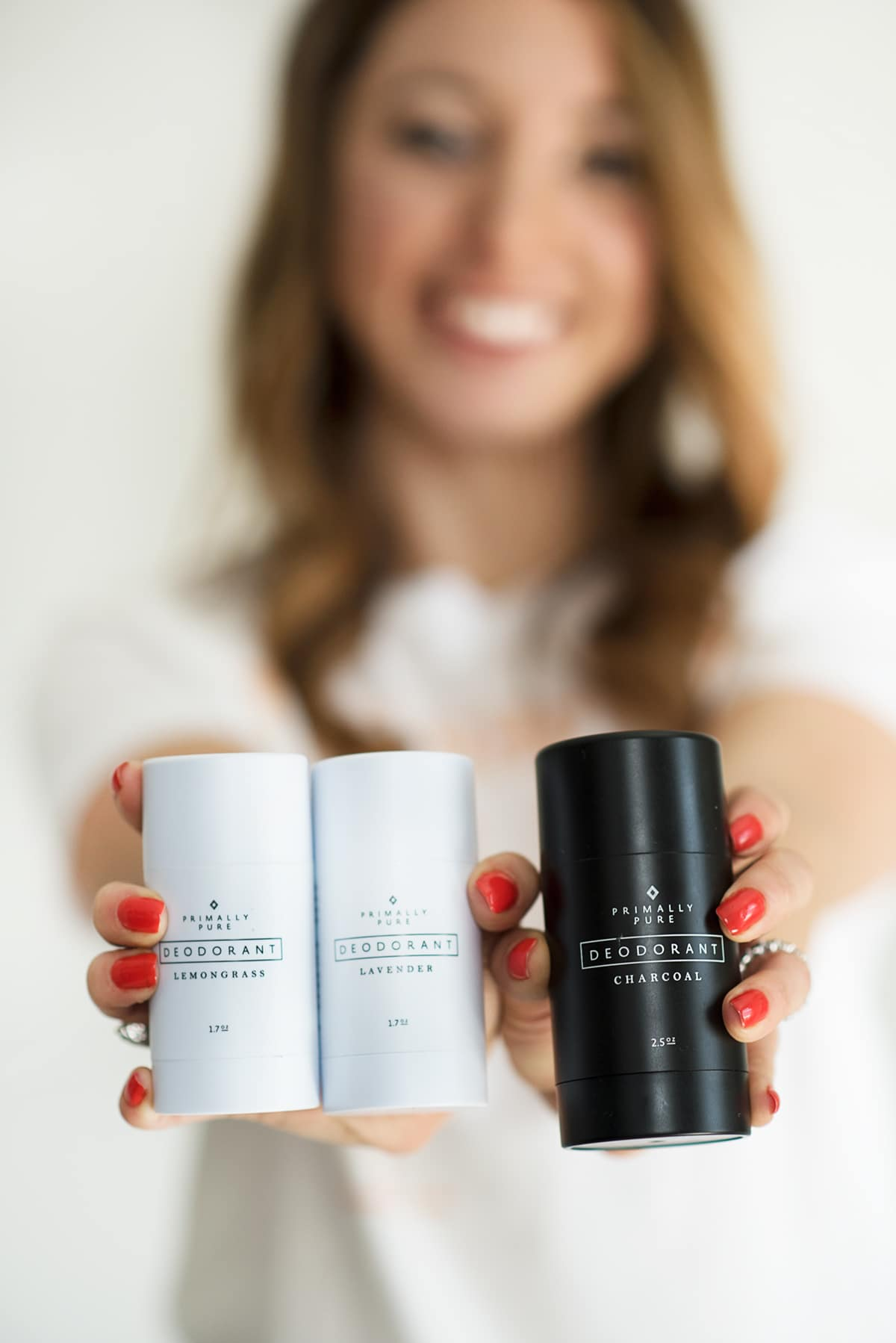 Lexi holding clean beauty brands of deodorant