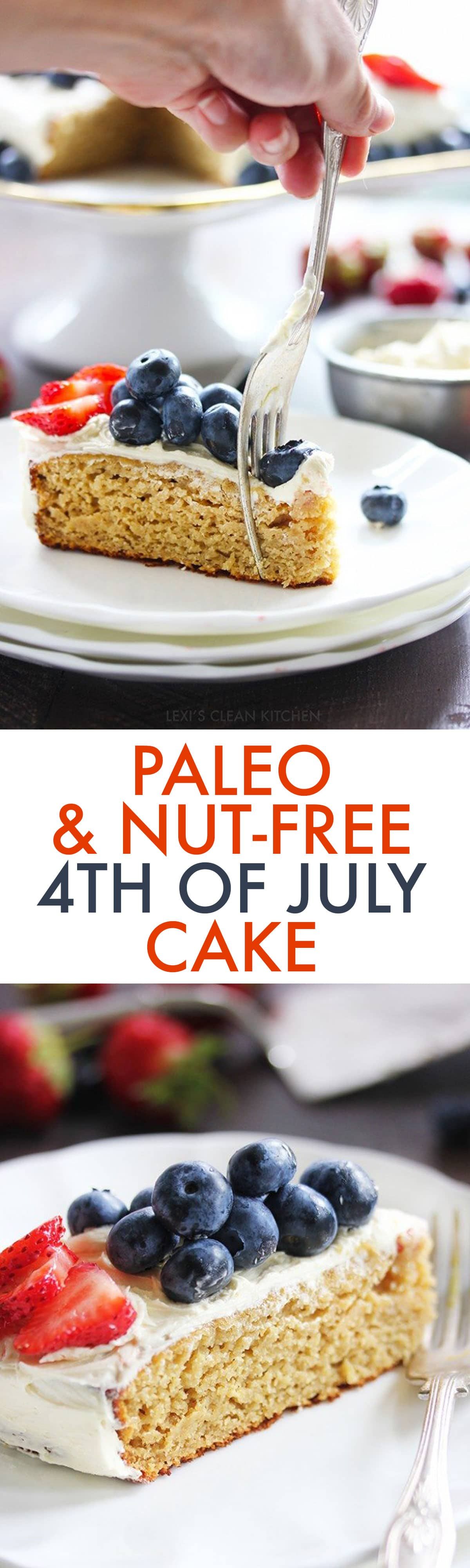 Lexi S Clean Kitchen Gluten Free 4th Of July Cake Nut Free
