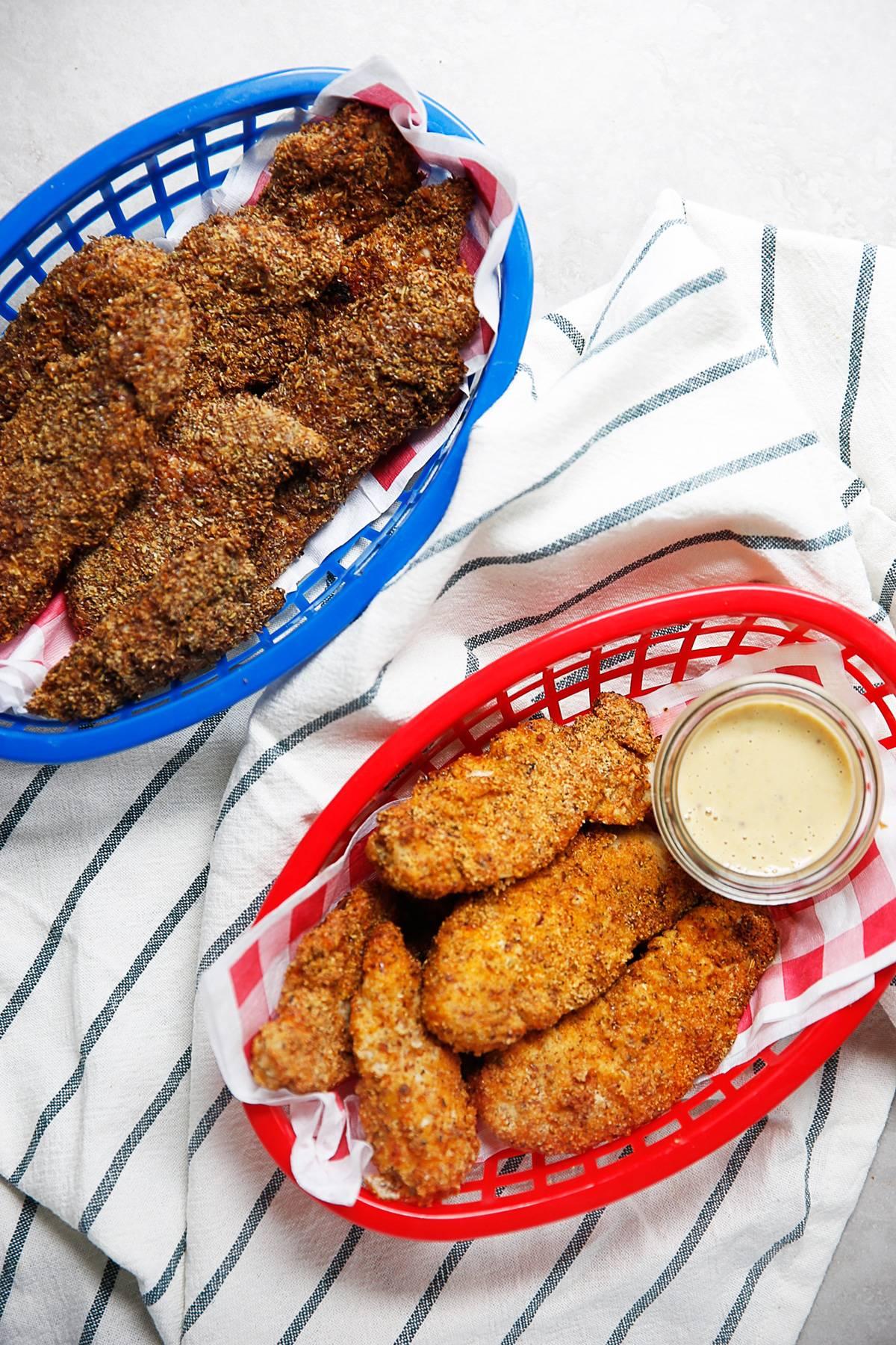 Healthy Chicken Tenders in the Air Fryer