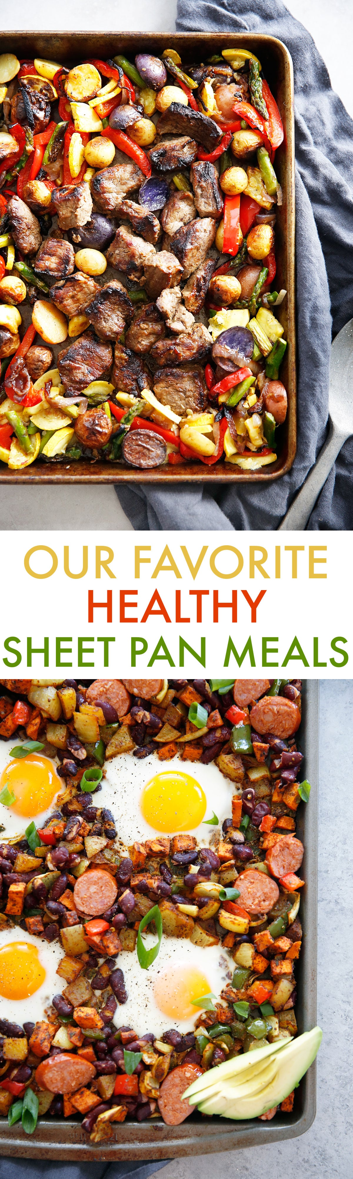 Healthy Sheet Pan Meals