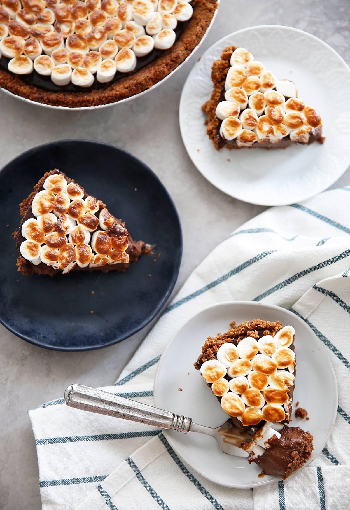 Smores Pie Recipe