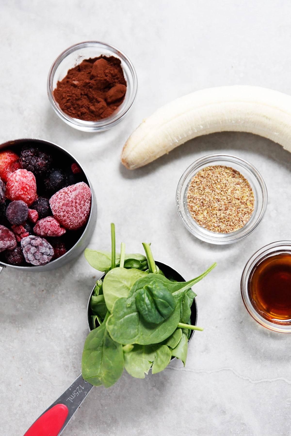 Antioxidant Smoothie Ingredients