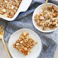 Apple Cinnamon Oatmeal Bake
