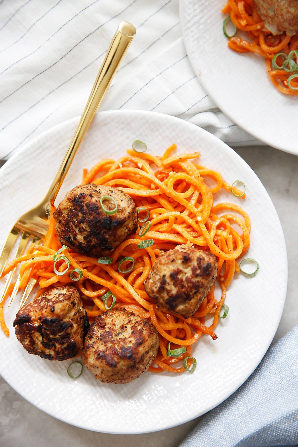 turkey apple meatballs paleo