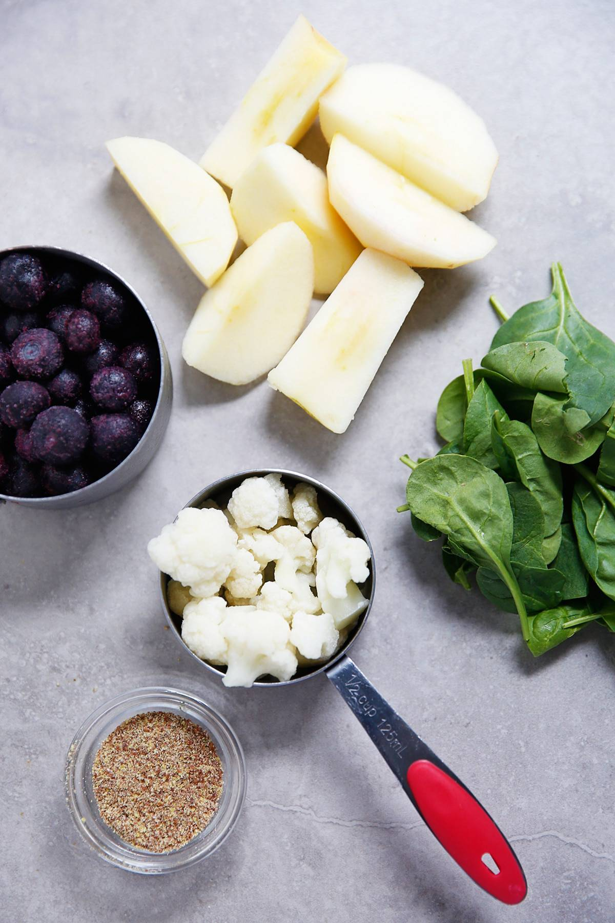 Fiber Smoothie Ingredients