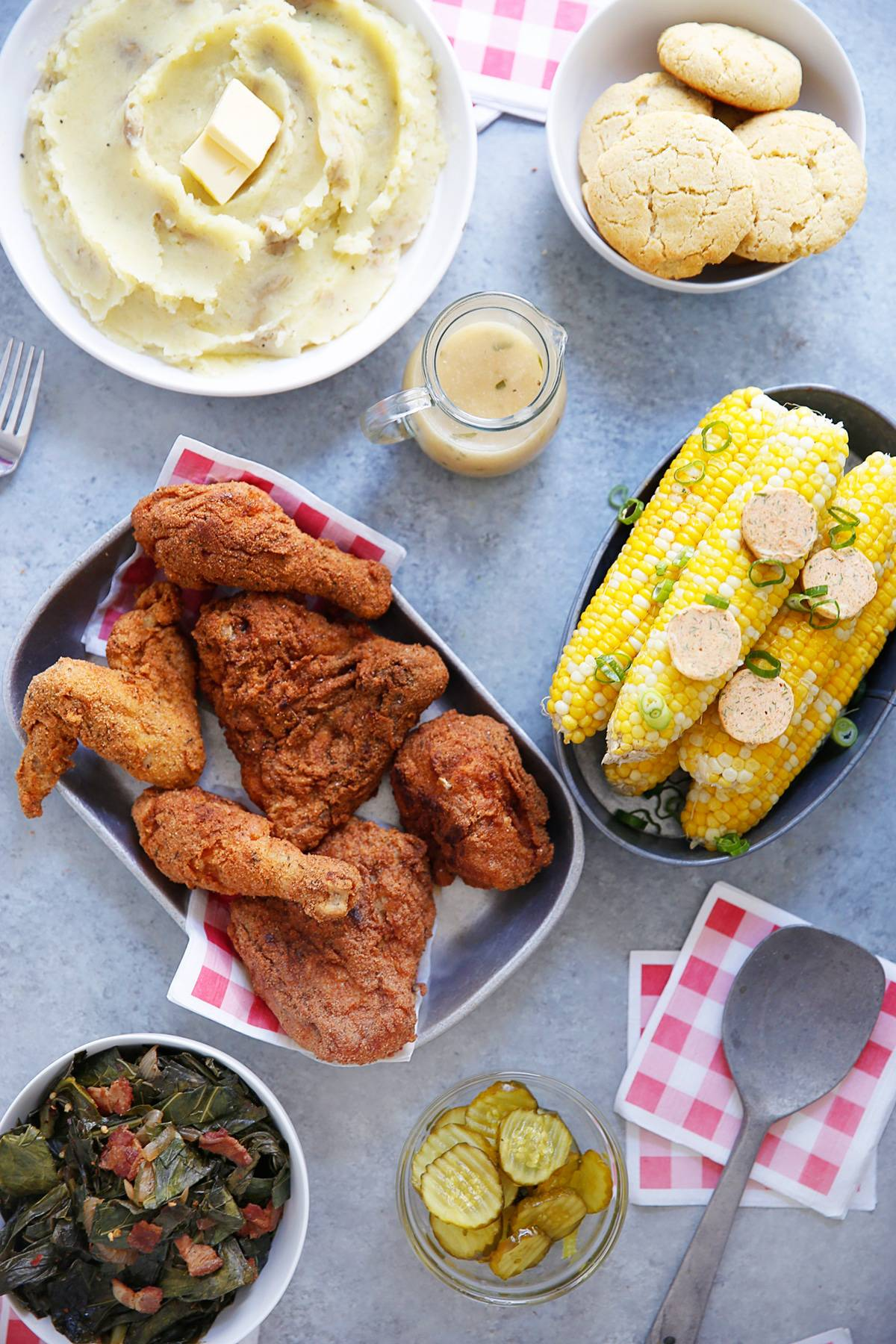 Southern Fried Chicken Meal
