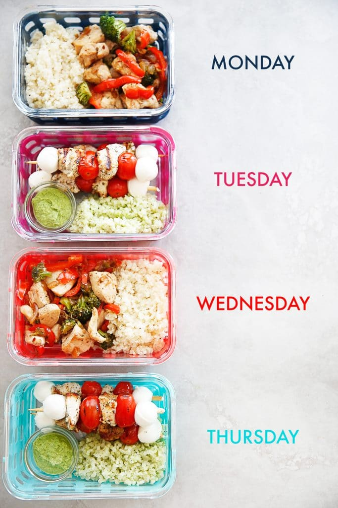 Meal Prep: 8 Budget Friendly Lunches