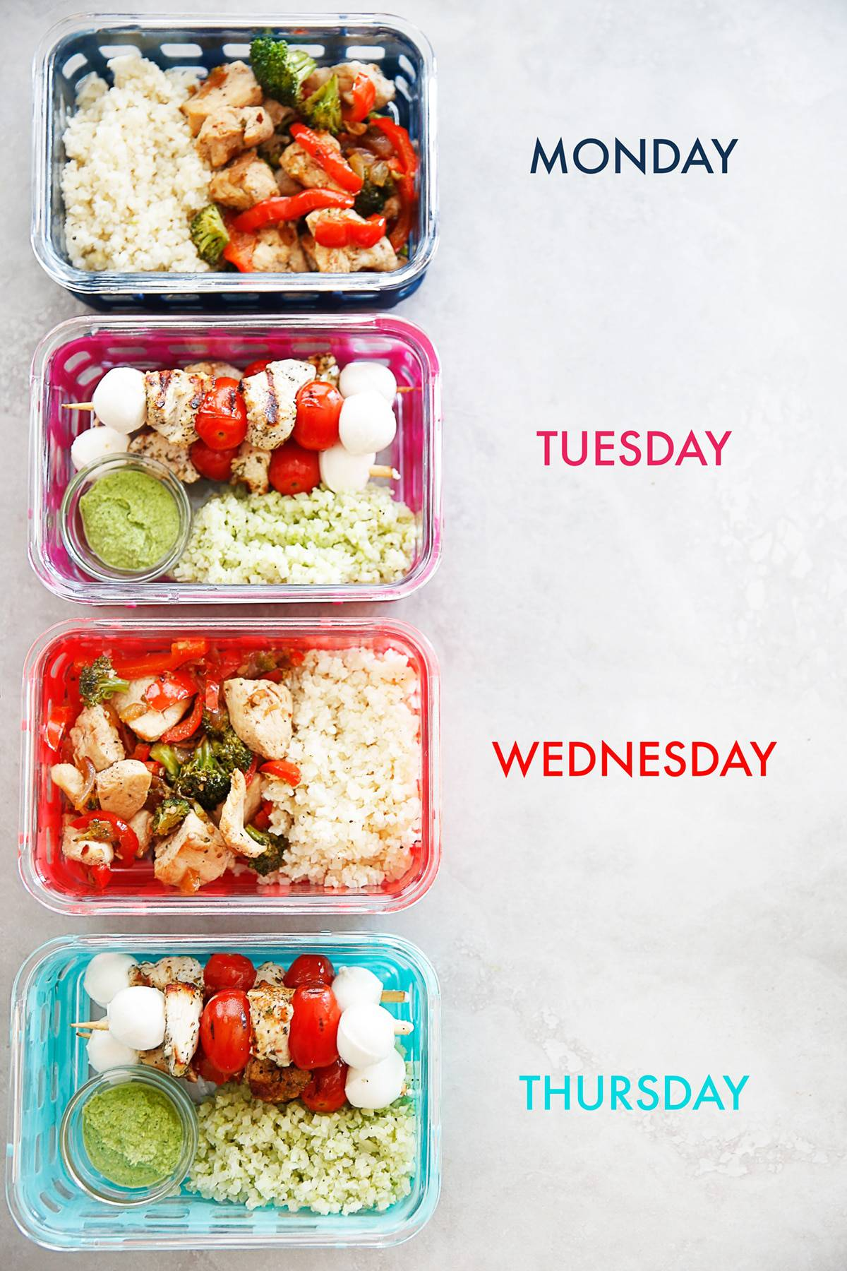 Photo Meal Prep Ideas For Office Lunch