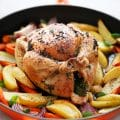 Whole Roasted Chicken Dinner