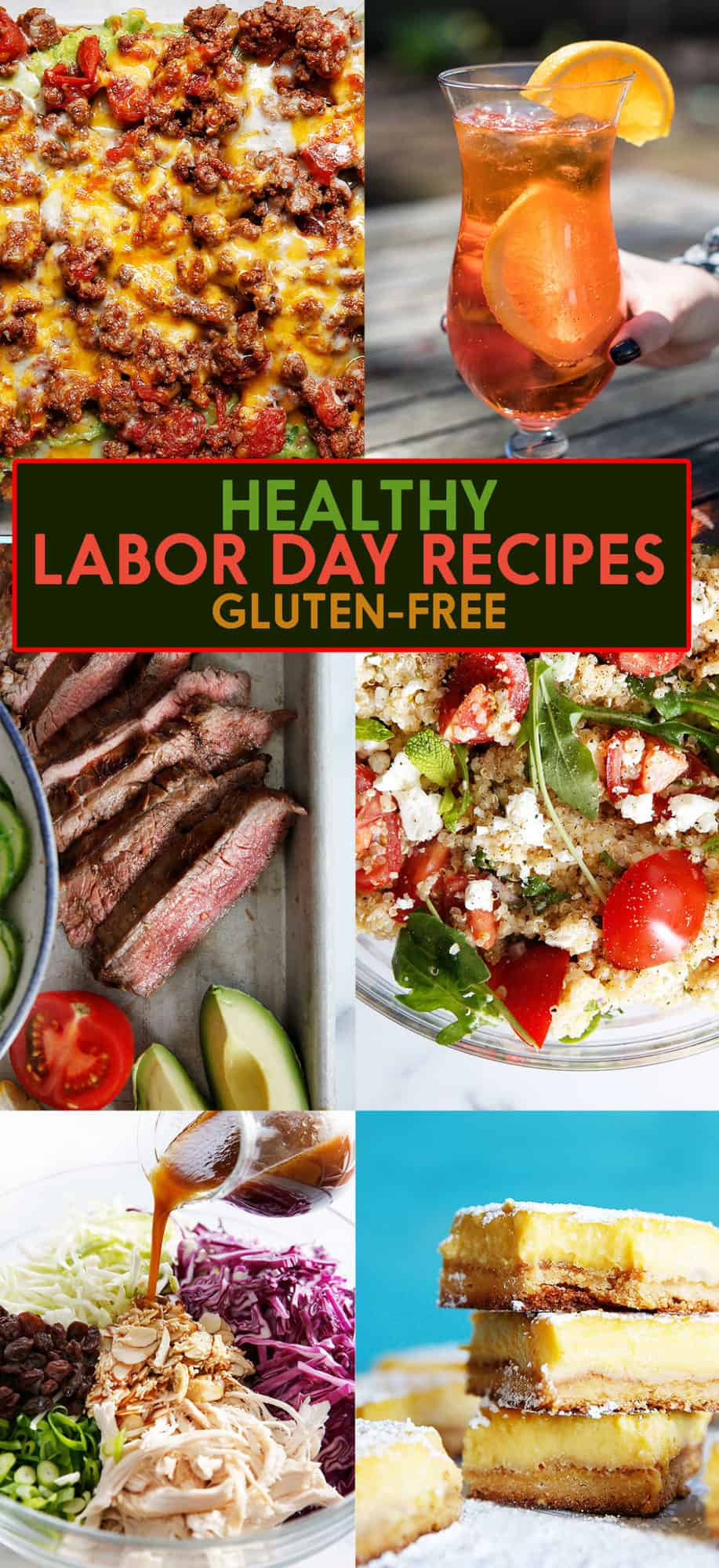 Healthy Labor Day Recipes (Paleo & Gluten-Free)