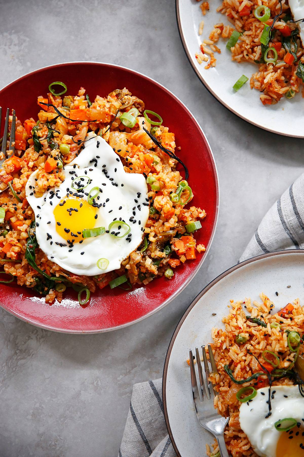 how do you make kimchi fried rice?
