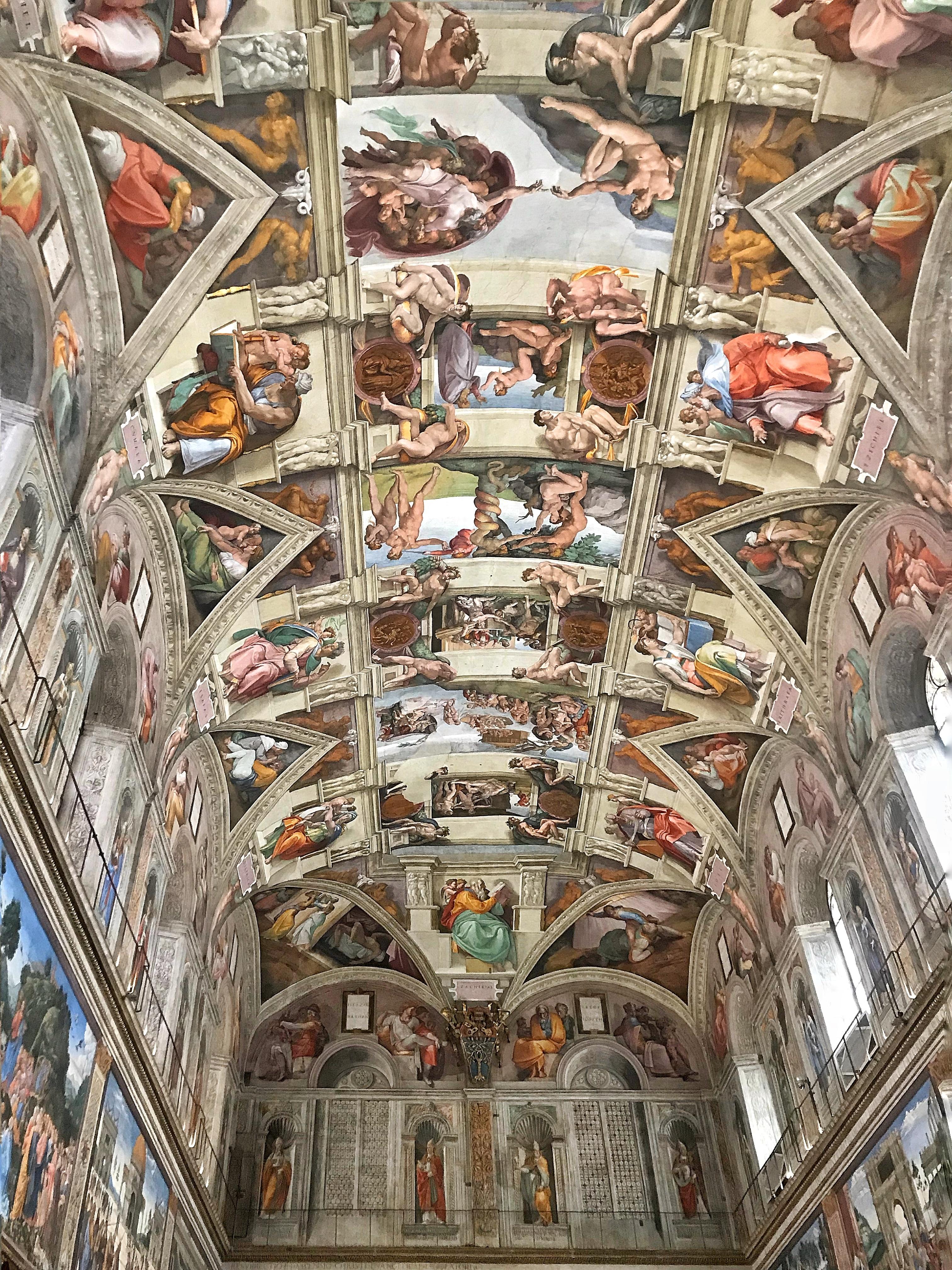 Rome April 2018 Sistine Chapel
