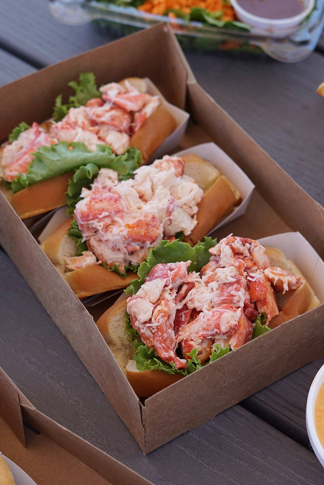 Lobster Rolls in York Maine