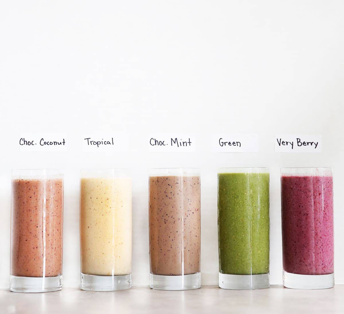 Freezer Pack Smoothie Series