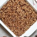 Chocolate Peppermint Oatmeal Bake