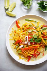 Curry Butternut Squash Noodles
