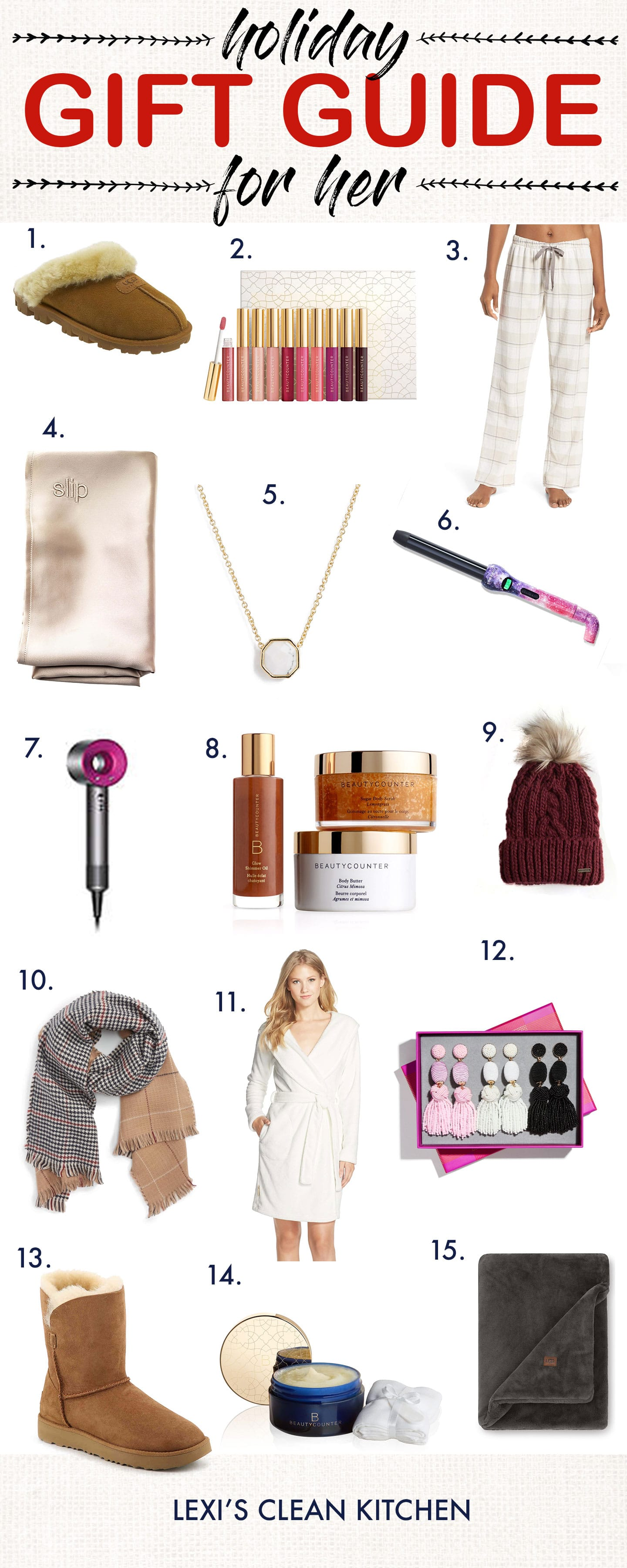 Holiday Gift Guide FOR HER 2018