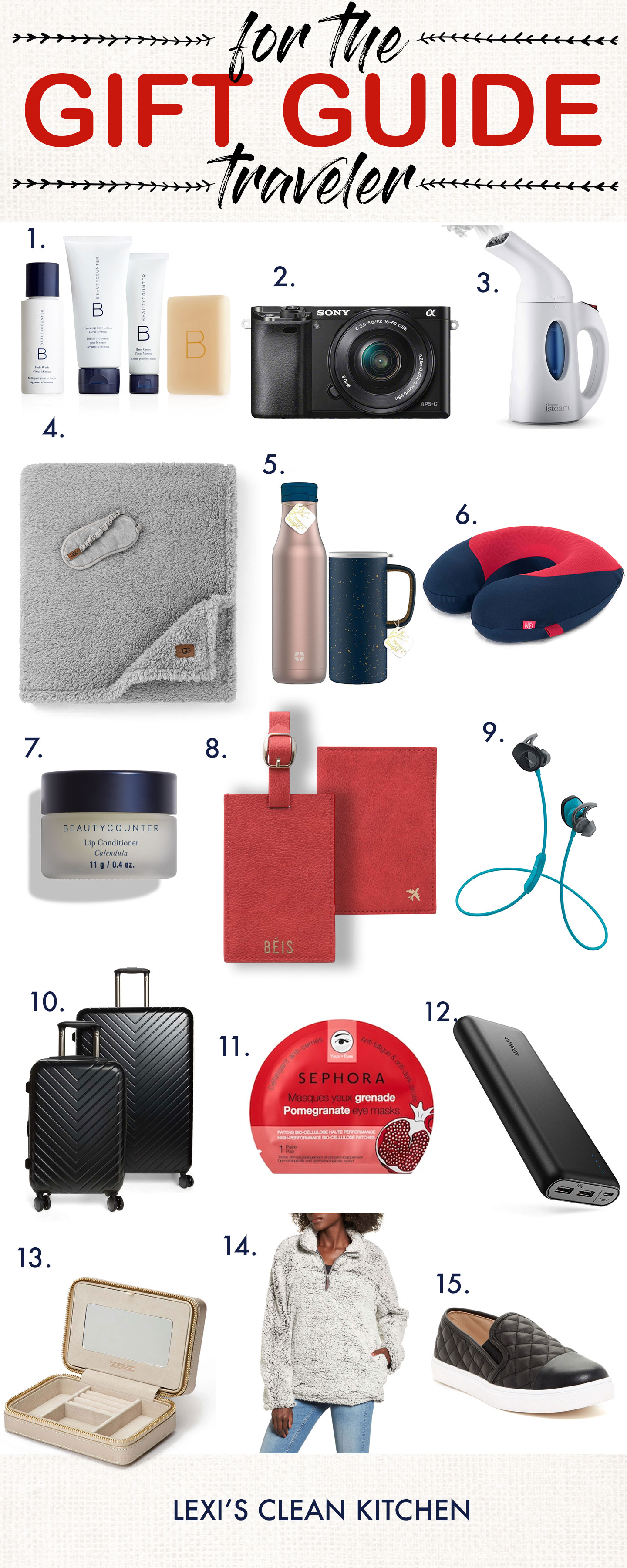 Holiday Gift Guide For The Traveler 2018