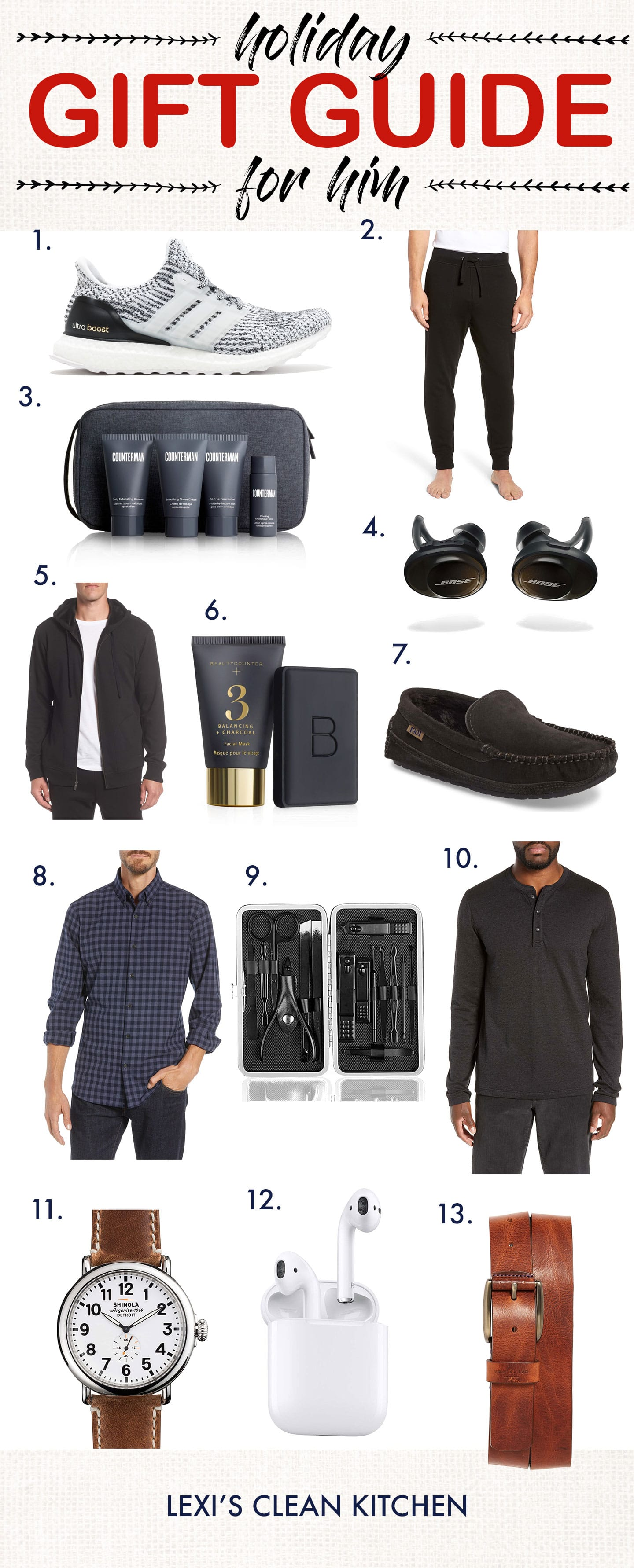 Holiday Gift Guide For HIM 2018