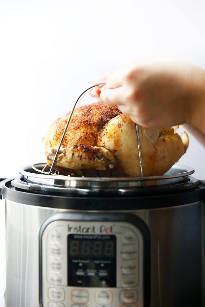 How to Roast a Chicken in the Instant Pot