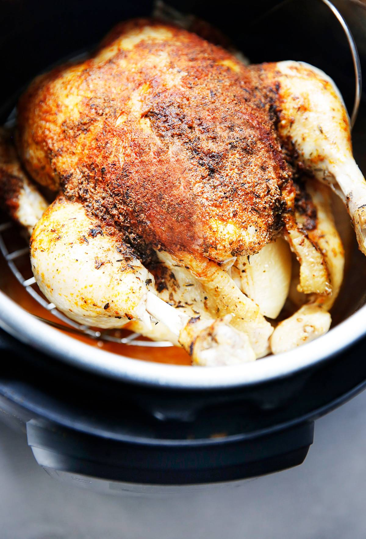 How long does it take to cook chicken in instant pot
